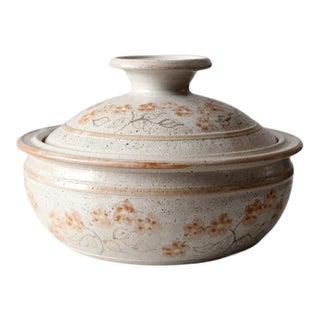 Vintage Judy Jones Studio Pottery Tureen For Sale