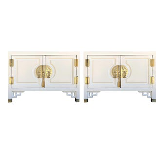 1960s Chinoiserie Nightstands - a Pair For Sale