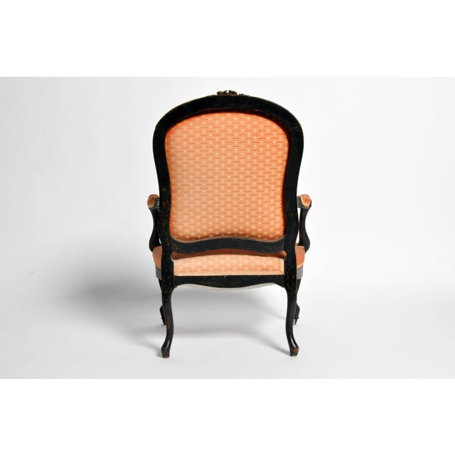 Louis XV Style Fauteuil With Cabriole Legs For Sale In Chicago - Image 6 of 11