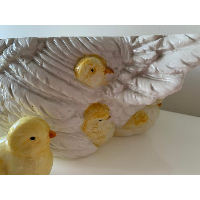 Late 20th Century Intrada Hen Soup Tureen With Baby Chicks, Ladle and Serving Tray - 8 Pieces For Sale - Image 12 of 13