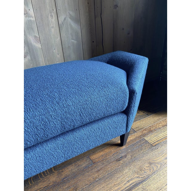 Textile Aspire Show House Baker Diamond Chaise For Sale - Image 7 of 10