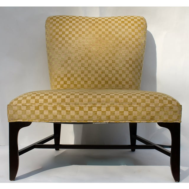Vintage Slipper Chair & Ottoman by Barbara Barry - Image 3 of 7