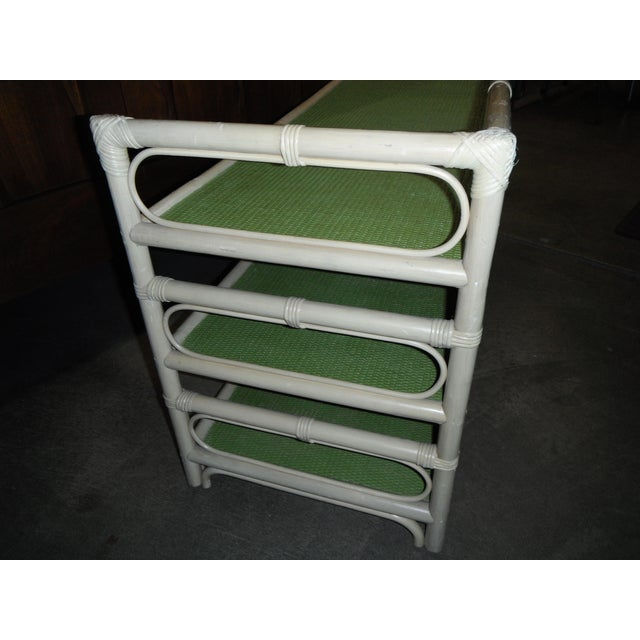 Rattan/Bamboo Vintage Storage Console - Image 5 of 7