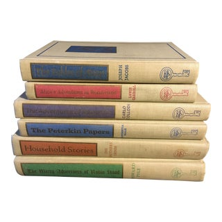 Vintage Deorative Classic Story Books - Set of 6 For Sale