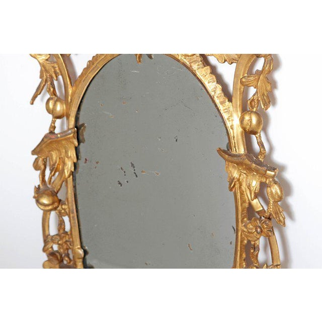Giltwood George III Chippendale Style Pier Glass Mirror For Sale - Image 7 of 13