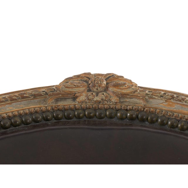 "French Louis XVI Antique ""Duchesse Brisée"" Chaise Lounge, 19th Century For Sale - Image 9 of 13"