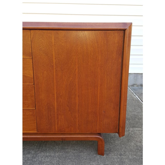 Mid Century Edmond Spence Credenza Cabinet For Sale - Image 6 of 13