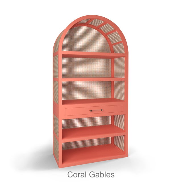 Not Yet Made - Made To Order Leila Etagere Bookcase - Coral Gables For Sale - Image 5 of 5