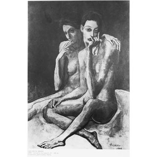 1971 Picasso Two-Sided Parisian Photogravure For Sale