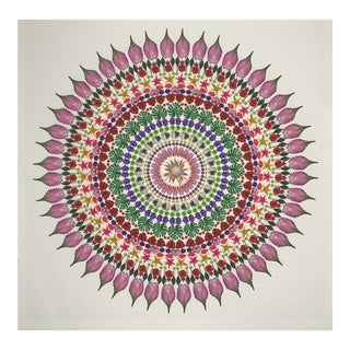 """Flower Mandala"" Print For Sale"