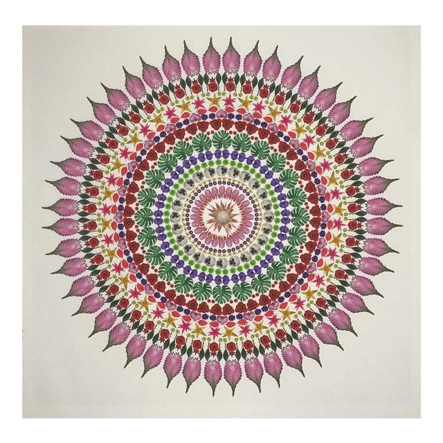 """""""Flower Mandala"""" Print For Sale"""