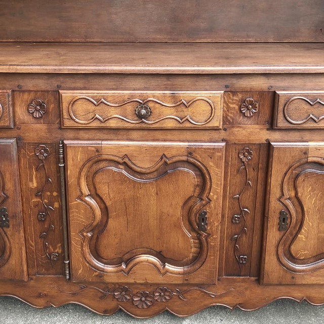 19th Century Country French Vaisselier ~ Buffet For Sale - Image 11 of 13
