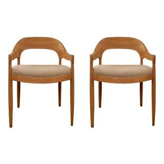 Danish Modern Inspired Pair of Chairs