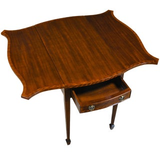 Traditional Mahogany Pembroke Table For Sale