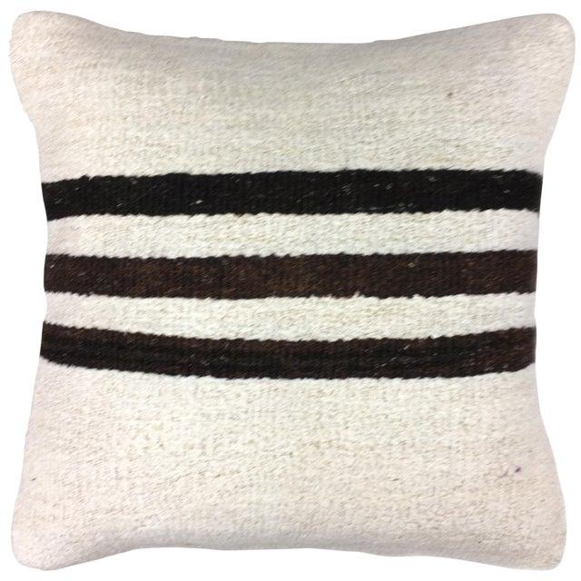 "Hemp Rug & Relic Kilim Pillow | 16"" For Sale"