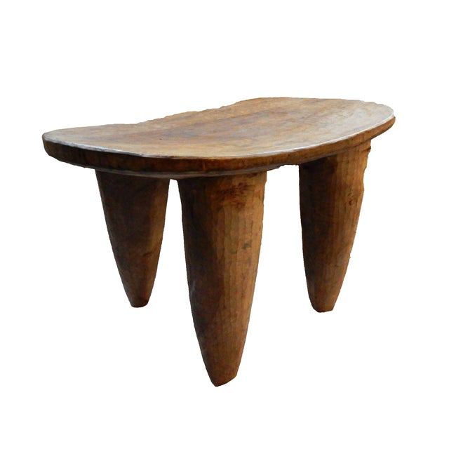 African Senufo Wood Stool - Image 5 of 6