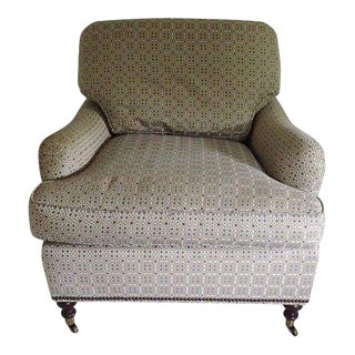 "English Country Style "" Baker"" Club Chair For Sale"