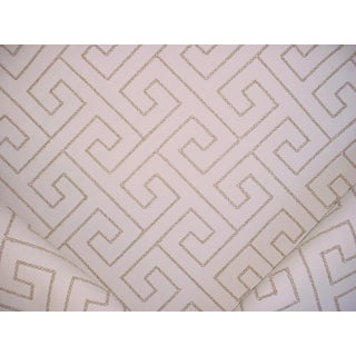 Kravet Couture 34505 Pilgrimme Beach Greek Key Outdoor Upholstery Fabric - 2-3/4y For Sale