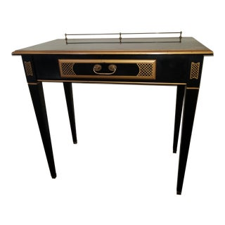 French Louis XV Style Ebonized Desk