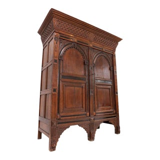Dutch Renaissance Cabinet For Sale