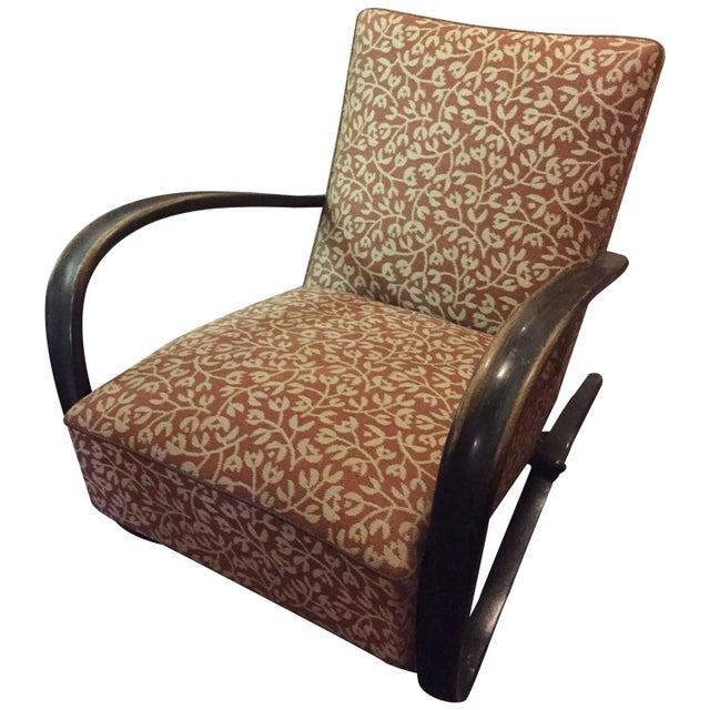 "Jindrich Halabala Art Deco ""H269"" Chair - Image 1 of 5"