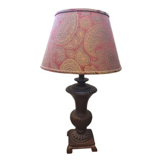 Table Lamp Desk Lamp With Paisley Shade Murray Feiss For Sale