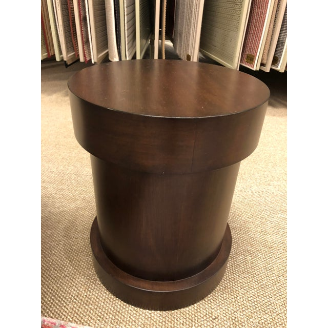 Syosset Transitional Essex Side Table For Sale - Image 4 of 4