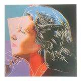 "Image of Andy Warhol Estate Rare Vintage 1989 Collector's Pop Art Lithograph Print "" Ingrid Bergman "" 1983 For Sale"