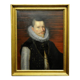 After Rubens -Portrait of Albert, Archduke of Austria-18th C. Oil Painting For Sale