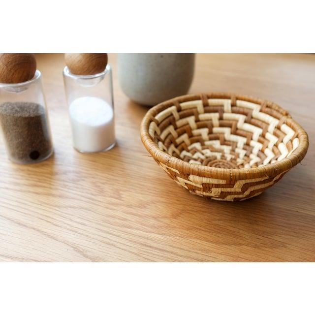 African Basket Bowl For Sale - Image 4 of 6