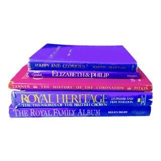 The Royal Family Collection of Purple & Blue Books- Set of 5