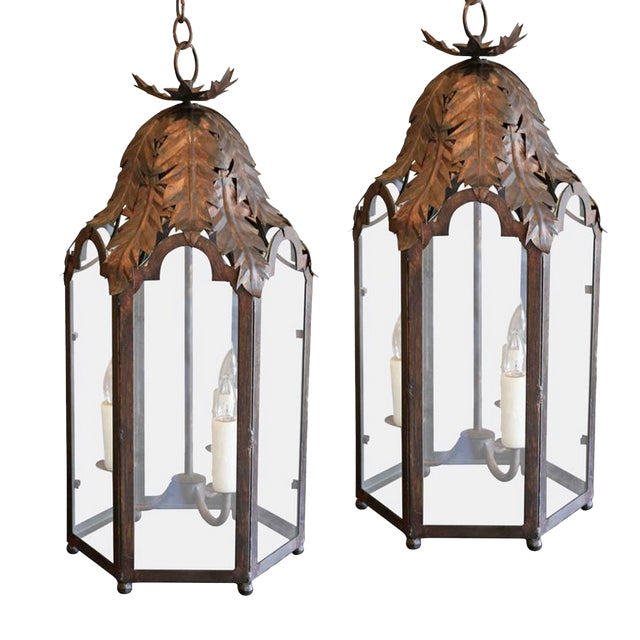 Two Italian Style Lanterns For Sale