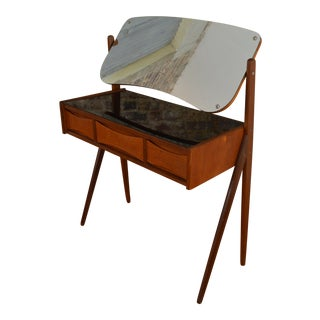 Petite Arne Vodder Danish Dressing Table / Vanity