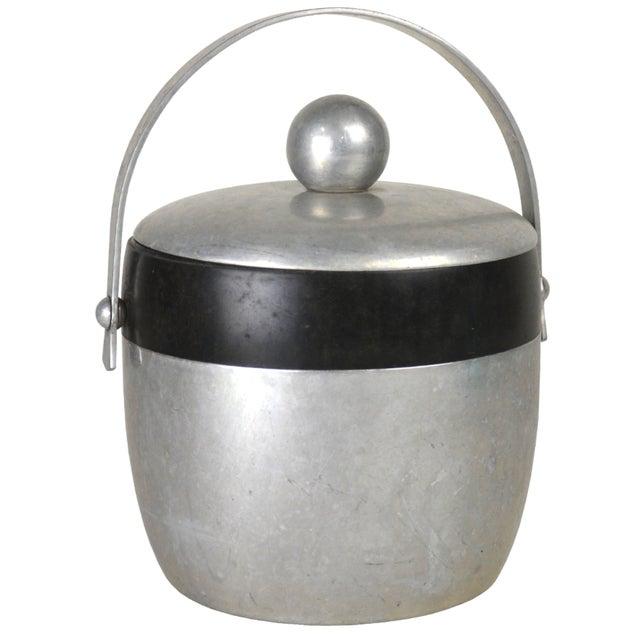 Vintage Aluminum Ice Bucket - Image 1 of 3