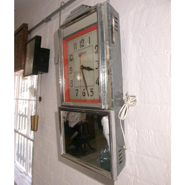 Deco Electric Wall Clock For Sale In Los Angeles - Image 6 of 7