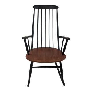 1950s Rocking Chair by Ilmari Tapiovaara for Asko For Sale