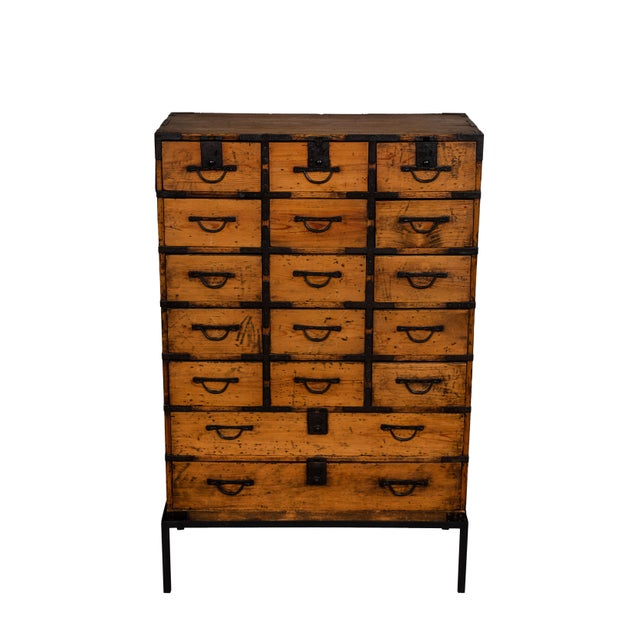 Antique Japanese Tansu For Sale - Image 10 of 10