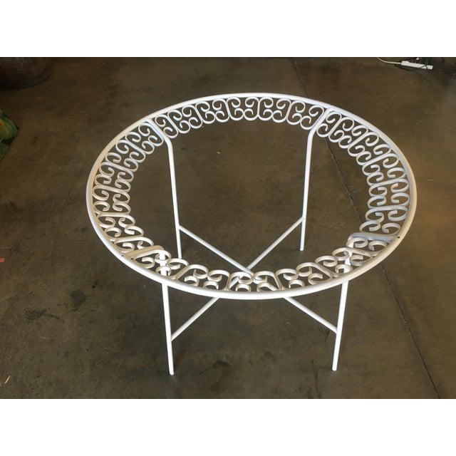 Salterini Ribbon Patio/Outdoor Picnic Table by Maurizio Tempestini for Salterini For Sale - Image 4 of 9