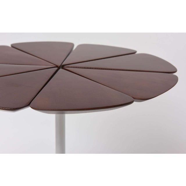 Mid-Century Modern Pair of Richard Schultz Petal Side Tables For Sale - Image 3 of 10