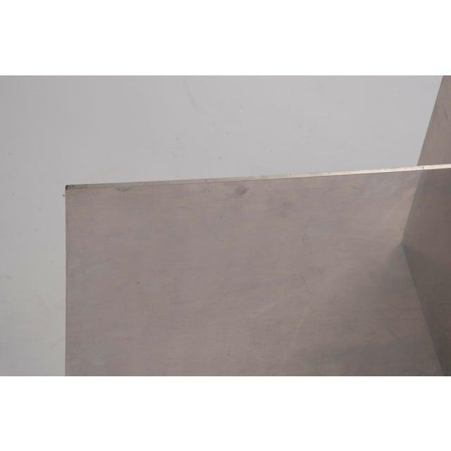 Aluminum Paul Mayen Habitat Aluminum Coffee Table For Sale - Image 7 of 12
