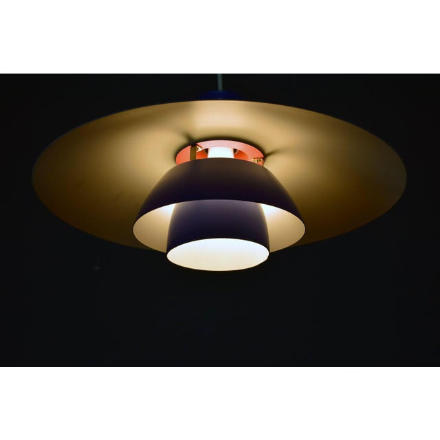 Louis Poulsen Vintage Poul Henningsen Ph 4/3 Pendant Light For Sale - Image 4 of 9