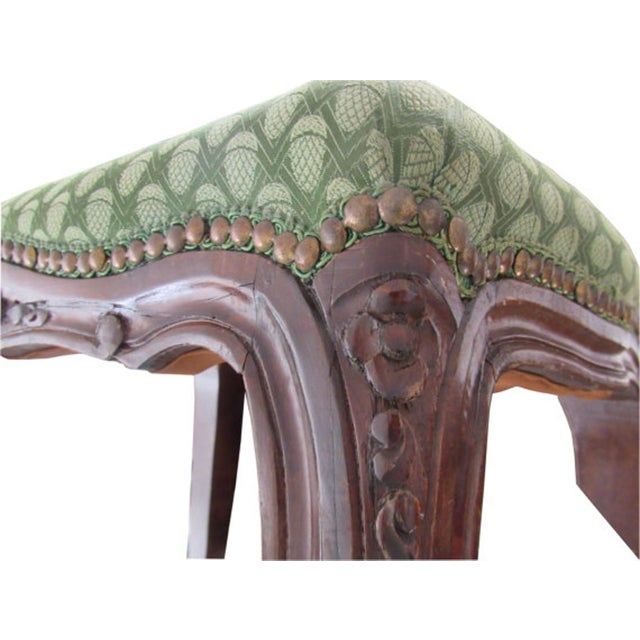 Antique Italian Carved Footstools - a Pair - Image 3 of 5