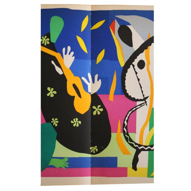 "French 1952 ""Tristesse Du Roi"" Original Lithograph by Henri Matisse For Sale - Image 3 of 6"