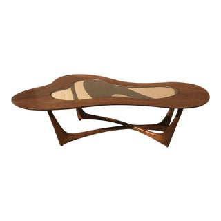 Mid-Century Modern Asymmetric Coffee Table