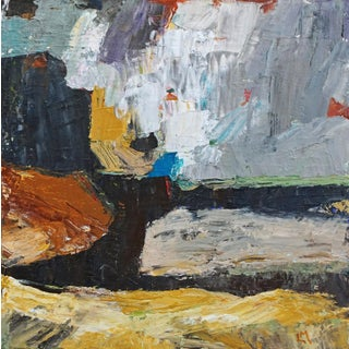 "Laurie MacMillan ""Going for the Gold"" Abstract Landscape Painting Preview"