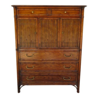 Drexel Malay Faux Bamboo Dresser For Sale