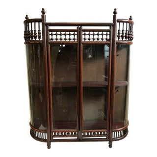 19th Century Victorian Stick and Ball Display Case For Sale