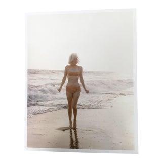 1962 Marilyn Monroe Malibu Print