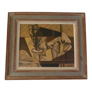 Mid-Century Modern Georges Braque Cubist Lithograph