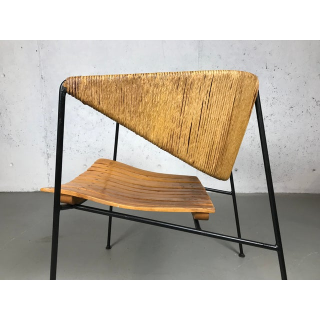 Exceptional 1950's Mid Century Modern Lounge Chair by Arthur Umanoff for Shaver Howard & Raymor For Sale - Image 9 of 13